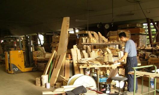 木の素材屋さん工場内4