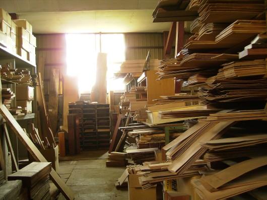 木の素材屋さん工場内5