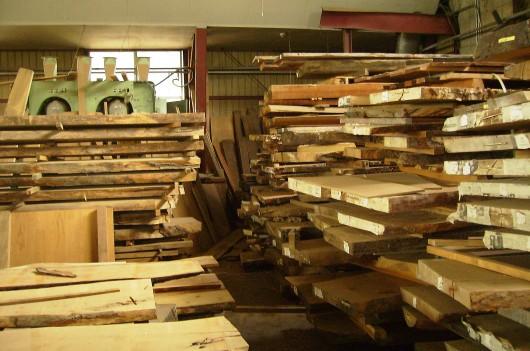 木の素材屋さん工場内6