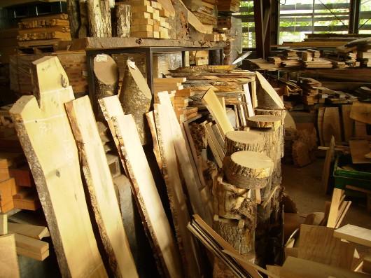 木の素材屋さん工場内7