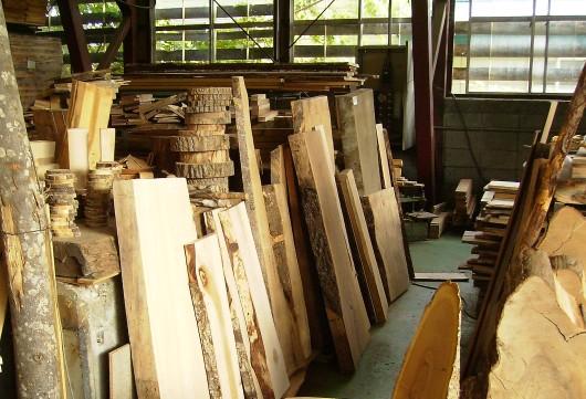 木の素材屋さん工場内8