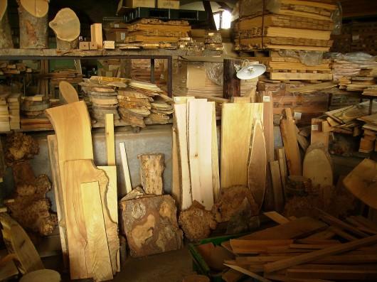木の素材屋さん工場内9