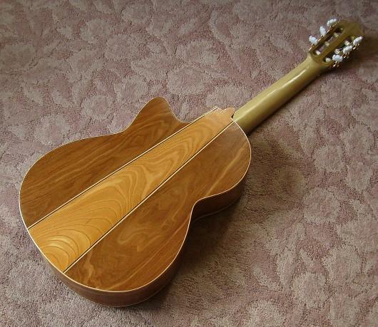 菊ギター第14号完成全体ウラ斜1
