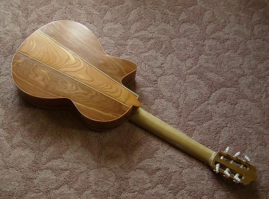 菊ギター第14号完成ウラ全体斜