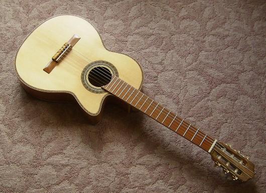 菊ギター第14号完成表全体斜