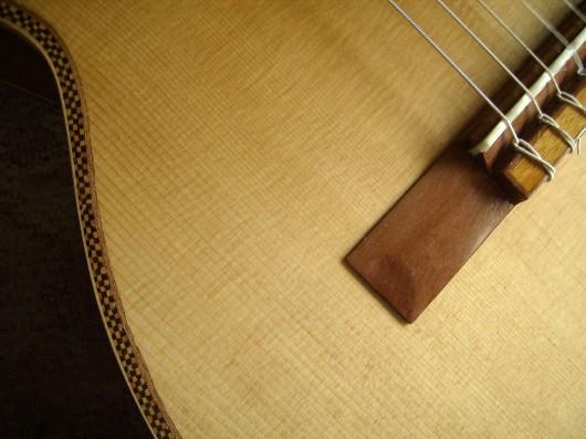 菊ギター第14号完成右腰アップ1