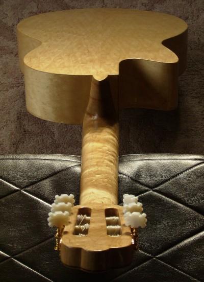 完成真上からウラ全体 菊ギター第15号