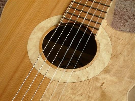 完成ロゼッタ 菊ギター第15号
