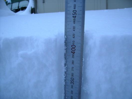 大雪42センチ2