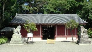 桜井神社 拝殿