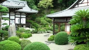 根来寺 庭園2