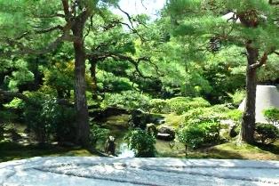 慈照寺 庭園2