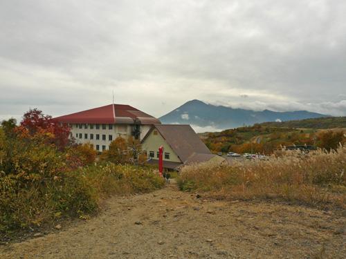 松尾からの岩手山
