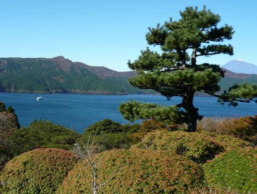 芦ノ湖から2