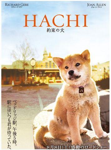 映画HACHIポスター