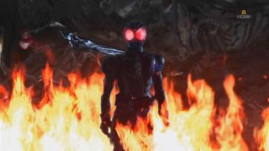 炎の中のマフラー