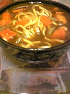 夕飯20091022