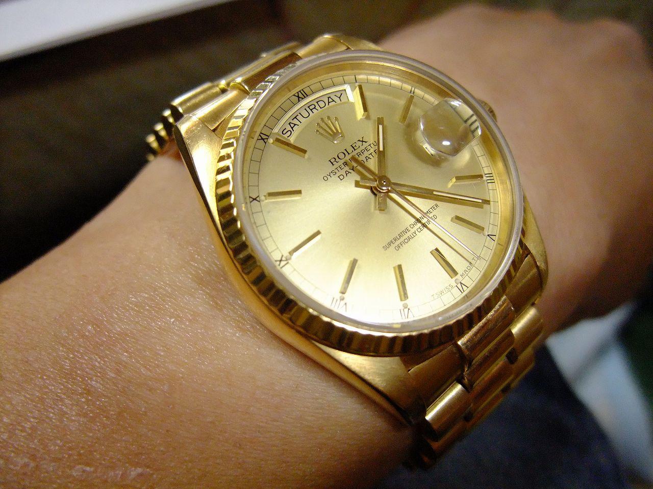 detailed look c09e0 80048 金ルチルは腕時計が好き!! (いつかは欲しい金無垢ロレックス ...