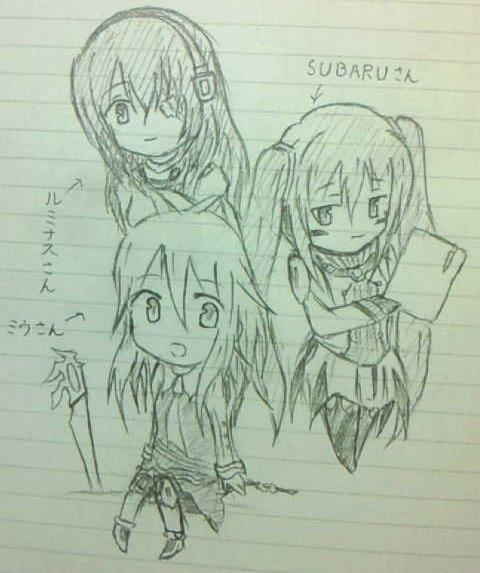 ミウさん♪SUBARUさん♪ルミナスさん♪