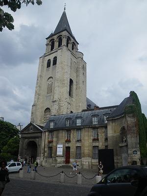 IMGP3784サン・ジェルマン・デ・プレ教会パリ最古の教会のひとつ