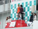 J-GP3チャンピオンの大久保選手のインタビュー