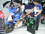 #56 RSGレーシング&フィービーのCBR600RRとライダーの岡村光矩選手