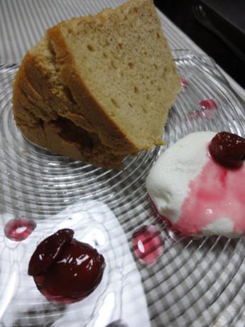 シフォンケーキとクレメダンジュ!
