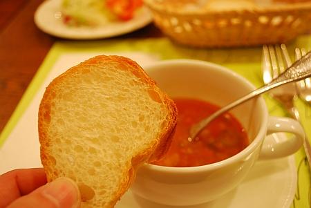 スープにつけたら行儀悪いん?