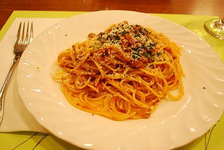 なんたらいうスパゲッティ
