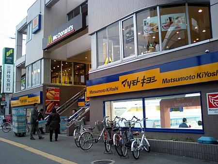 阪神甲子園駅、東口の南