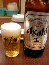 きのうもビンビール