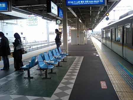 キレイになった阪神尼崎駅