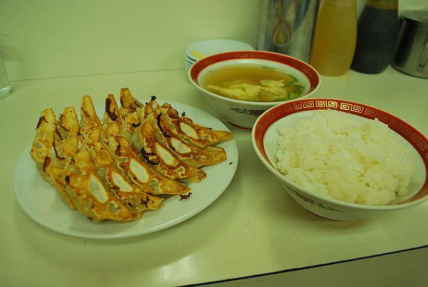 餃子定食(大)