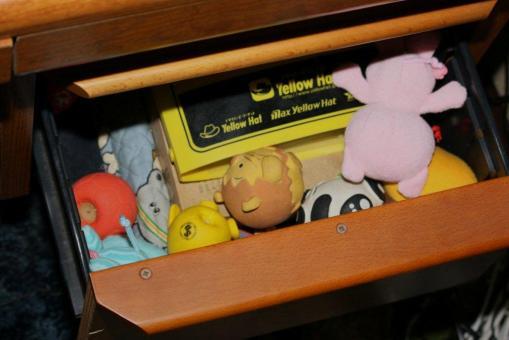 おもちゃの保管場所