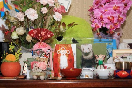 モモちゃんの祭壇
