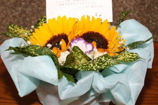 まきまきさんから頂いたお花