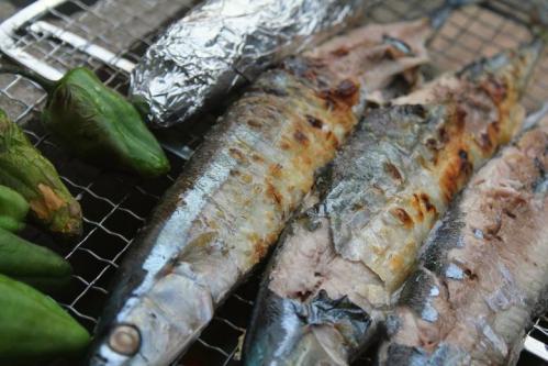 20100912焼き秋刀魚