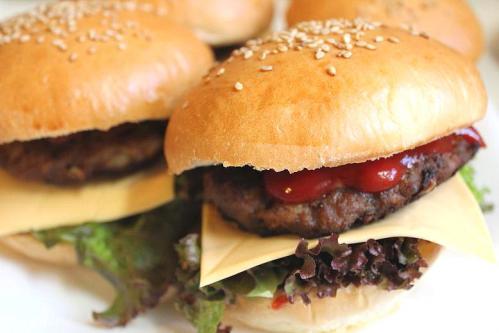 20100913チーズハンバーガー