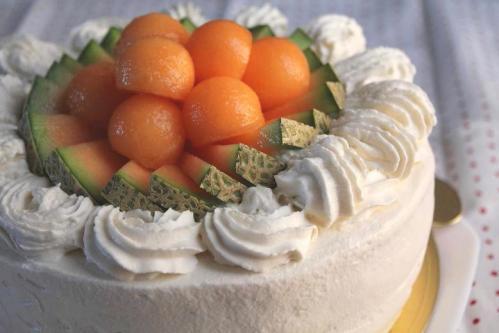 20100914メロンケーキ