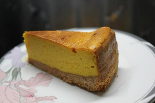 20101027パンプキンチーズケーキ