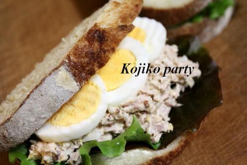 20101119酵母クッペでツナサミーと卵のサンド2A