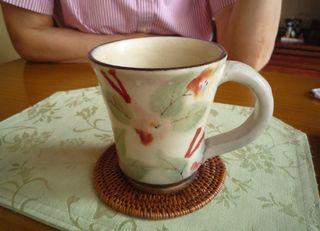 お母さんマグカップ