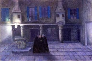 ウィリアム・ドグーヴ・ド・ヌンク 「夜の中庭をあるいは陰謀」