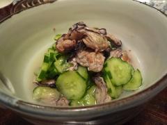 牡蠣の飯狩酢の物