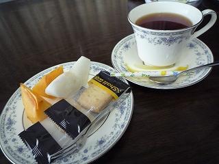 お茶とお菓子091116