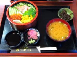 20110715おーだい寿司ランチ2