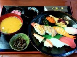 20110715おーだい寿司ランチ1