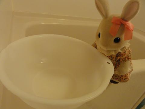 お風呂にはいるみたい