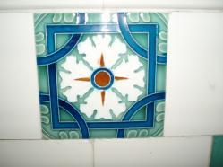 西脇市へ2010.07.31-旧来住家19~お風呂のタイル