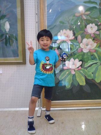 2010.05.22古座川町~町民会館にて